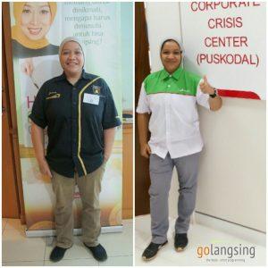 Peserta Wellness Coaching di Perusahaan