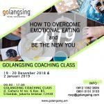 Sessi 3 WeekDay Class 2 Januari 2019