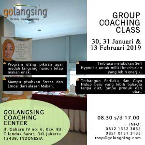 Sessi 3 WeekDay Class 13 Februari 2019