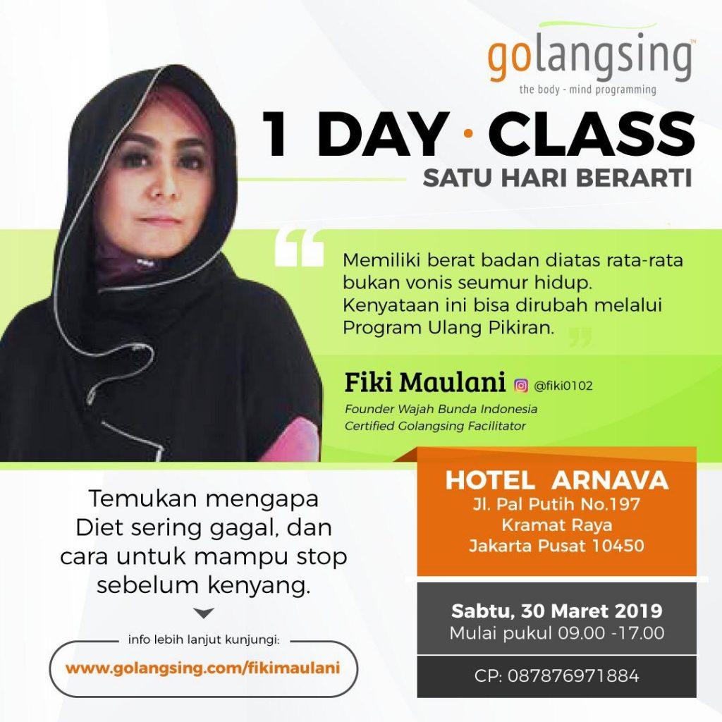 1Day Class Jakarta 30 Maret 2019
