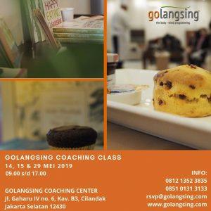 Golangsing Coaching Class 15, 17 & 29 Mei 2019