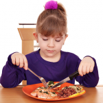 Girl-eating-salmon-dinner_picky-eater-486