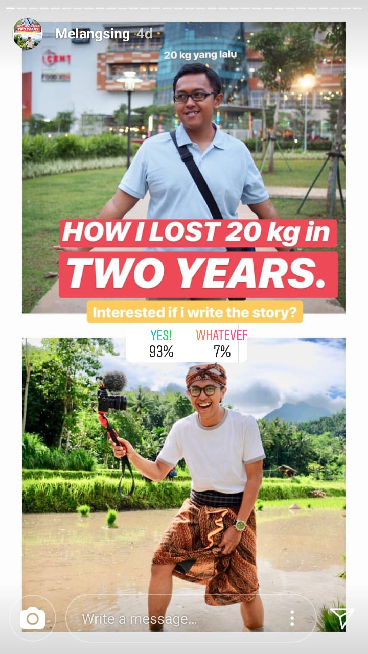 HOW I LOST 20 kg in TWO YEARS